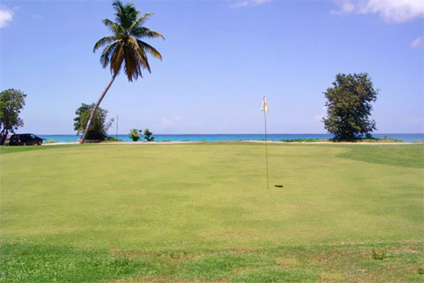 Golf in Mullet Bay