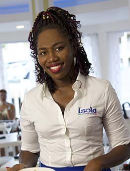 Natasha Carty Host & Assistant Manager at Isola Italian Restaurant in Sint Maarten